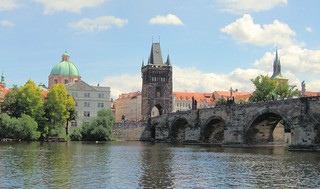 The Charles Bridge, Prague.