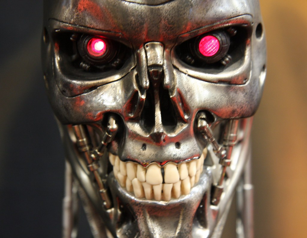 Terminator Face - a photo on Flickriver