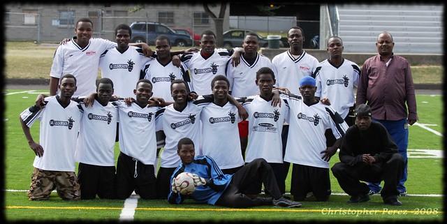 Senegal vs Timbers Army - Senegal Team