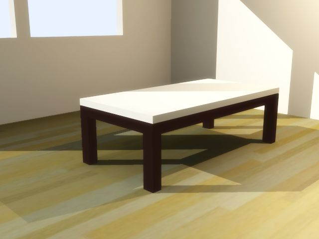 Coffee table designed in google sketchup flickr photo for Table design sketchup
