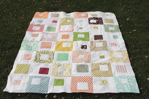 Spotted Quilt Top
