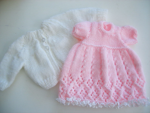 hand knitted doll clothes | Flickr - Photo Sharing!