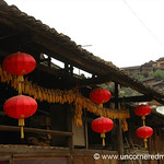 Red Lanterns and Corn - Guizhou Province, China