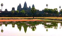 Kambodscha-1  Angkor-Wat usw.