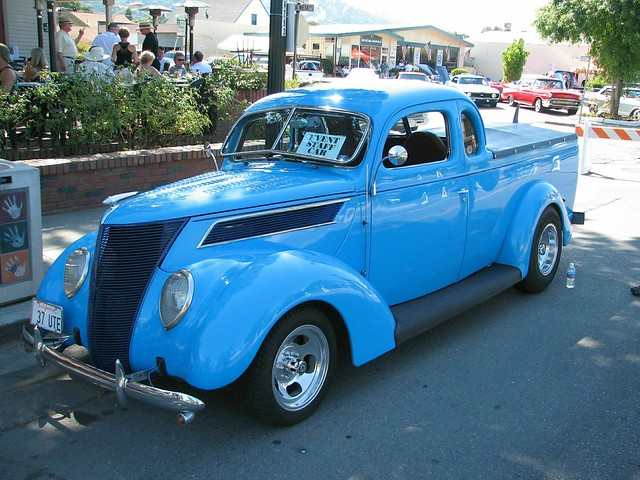 Danville Car Show >> 1937 Ford Coupe Utility (Custom) '37 UTE' 1 - a photo on ...