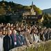 Sáb, 08/11/2008 - 15:40 - El grupo en la villa de Allariz. Ourense, 5 de noviembre de 2008. VII Conferencia Internacional APTE.