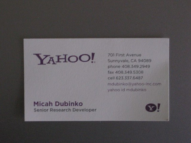 Business Name cards a gallery on Flickr