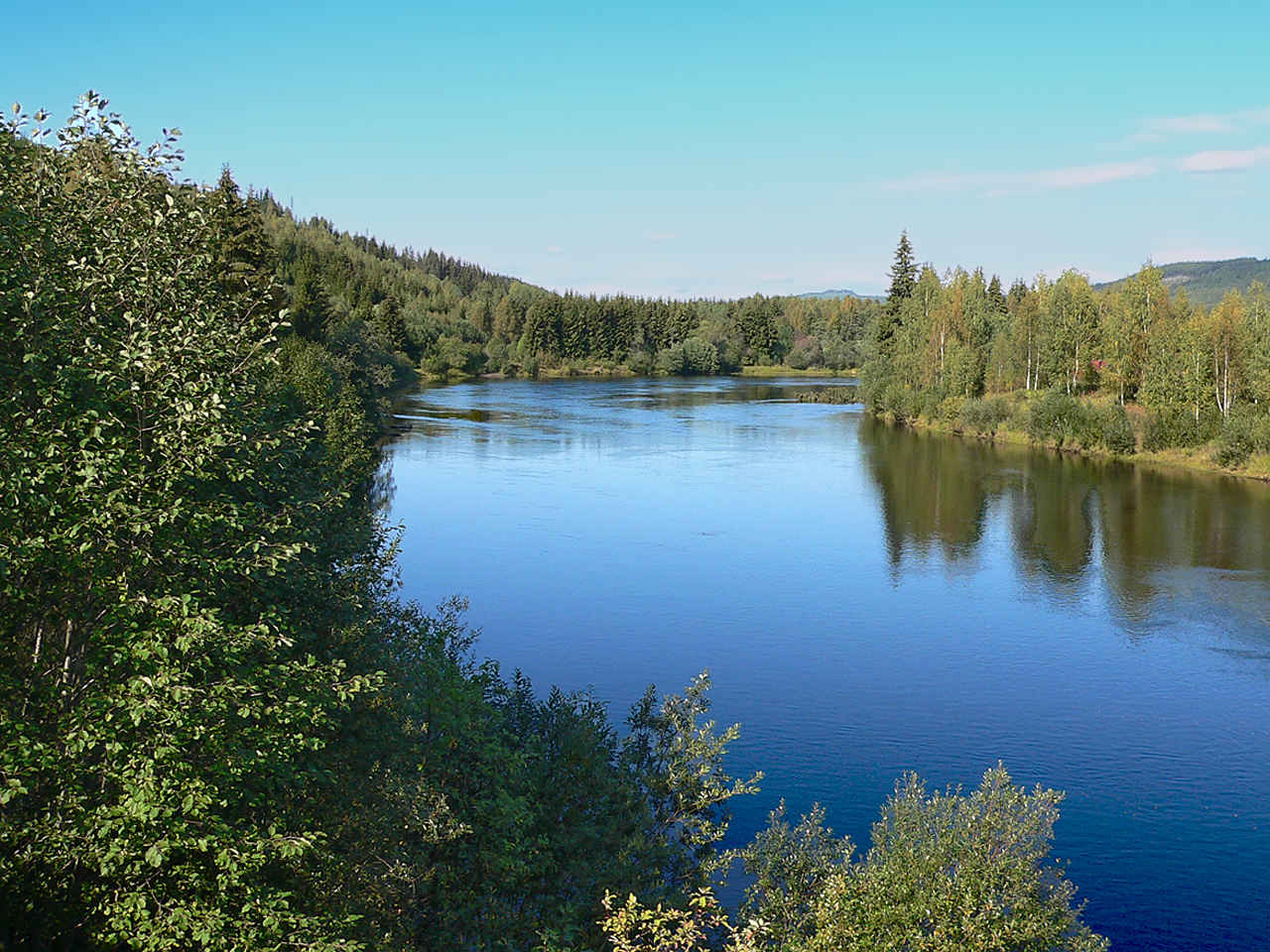 Landscape sweden klar lven near liken s v rmland a for Nearby landscapers
