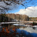 Winter Reflections on the Manitowish River in Autumn by Lifeinthenorthwoods.com