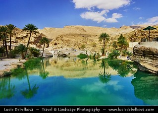 Oman - Oases in mountains & desert - Wadi Bani Khalid