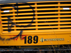 Staging Area - School Bus - Grill Detail