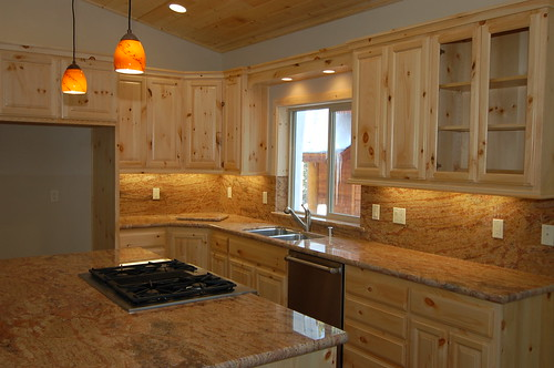 Custom design woodworks blog archive newly installed for Pine kitchen furniture