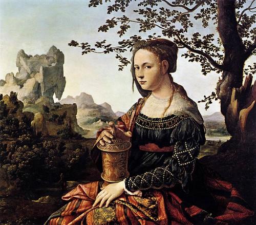 Scorel, Jan Van (1495-1562) - 1528c. Mary Magdalene (Rijksmuseum, Amsterdam)