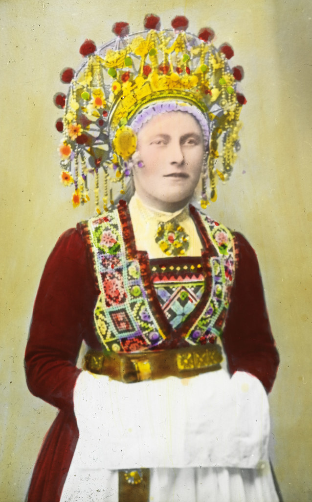 Bride in national costume