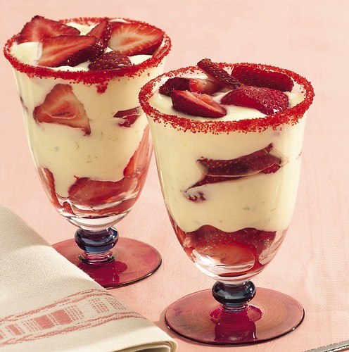 Strawberry Margarita Parfaits Recipe