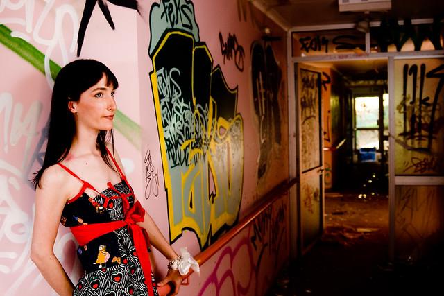 Sarah - Pink Hallway 3