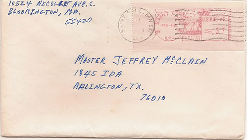 Envelope from Dad
