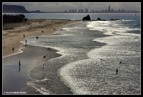 The Silver Coast - From Currumbin Surf Club - Gold Coast,Queensland