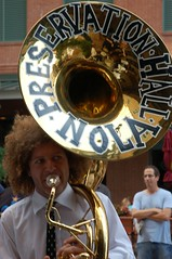 tuba(0.0), horn(0.0), drum(0.0), skin-head percussion instrument(0.0), sousaphone(1.0), musician(1.0), musical instrument(1.0), brass instrument(1.0),
