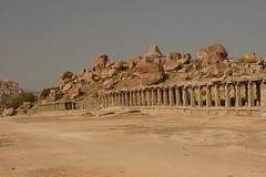 Hampi ruins by funtastica