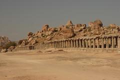 Hampi ruins by funtastica