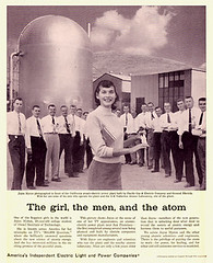 The Girl, The Men, and The Atom