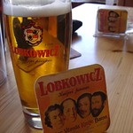 Local Brew, Lobkowicz Beer - Bohemia, Czech Republic