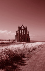 Whitby Abbey - Vintage Look
