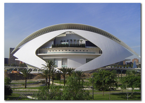 Valencia Opera House. City of the Arts and the Sciences, Spain, by jmhdezhdez