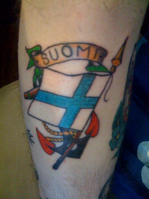 Better shot of Suomi (apprentice) tattoo | Flickr - Photo Sharing!