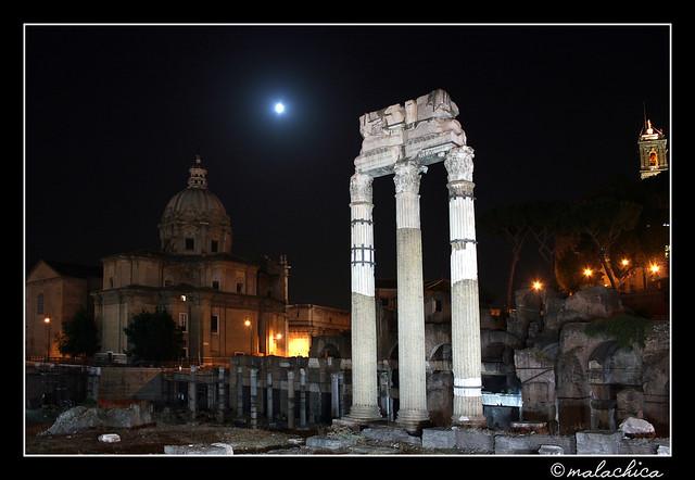 Roma. Ruinas romanas