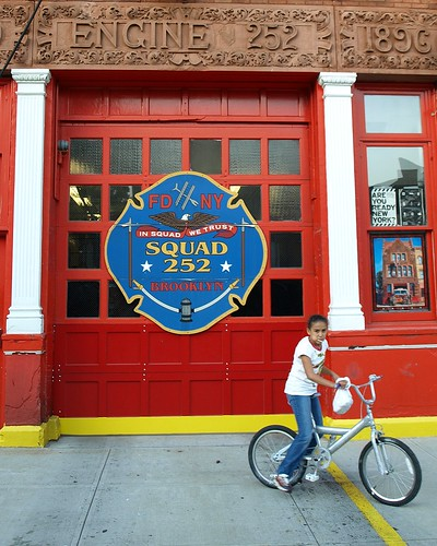 FDNY Firehouse Squad 252, Bushwick, Brooklyn, New York Cit