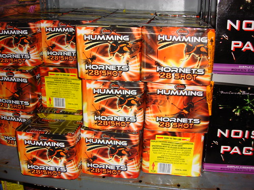EpicFireworks a bundle of humming hornets