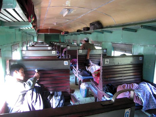 Settled In  - Train to Hsipaw, Myanmar (Burma)