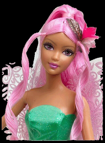 Barbie Fairytopia Doll Cake Topper Set