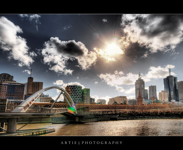 Southbank of the Yarra, Melbourne :: HDR