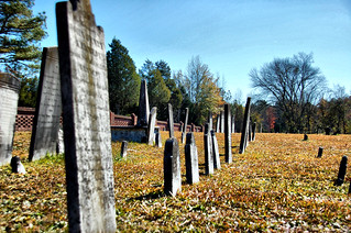 Old Headstones at Cedar Springs