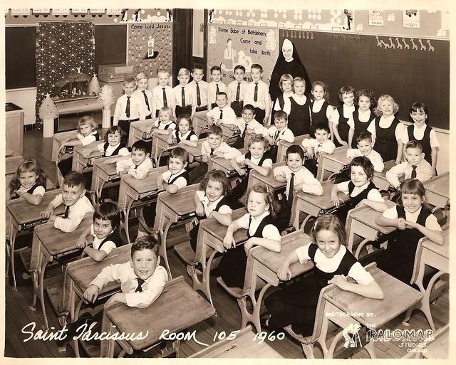 catholic classroom 1960