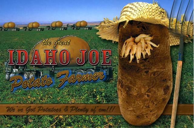 Idaho Joe Potato Farmer  Flickr  Photo Sharing