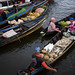 Early Trading at Floating Market
