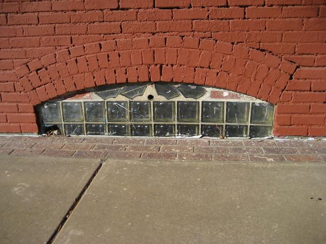 Basement Windows - Raised Sidewalk