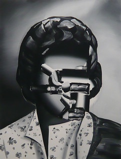 Painting by Tomoo Gokita, 2008
