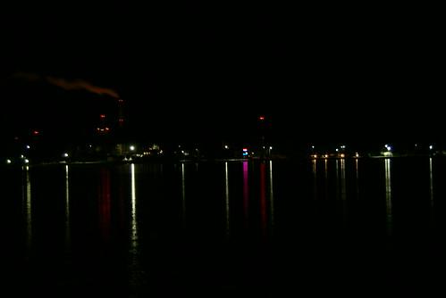 sea night dark pimeä meri vaasa yö