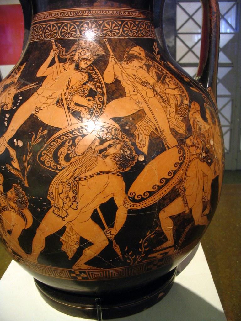 греческая ваза