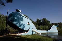 Route 66 Blue Whale