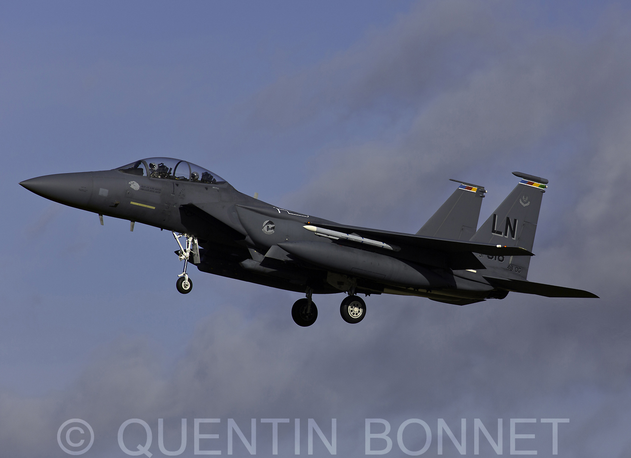 USAF McDonnell Douglas F-15C Eagle LN 91-318