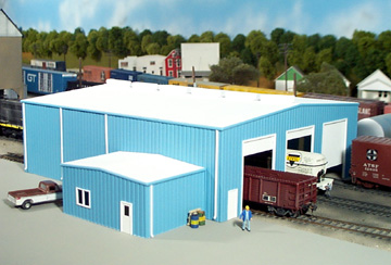 Enginehouse for How much to build a 40x80 shop