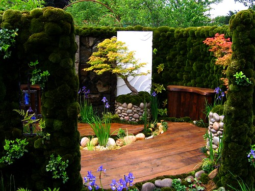 The Japanese Moss Garden at the 2007 Chelsea Flower Show