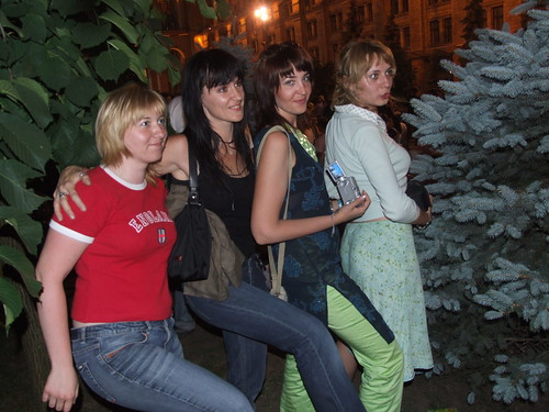 The girls in kiev