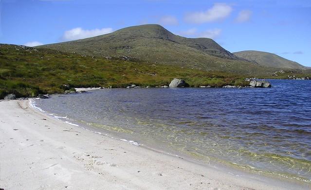 Merrick from the shore Of Loch Enoch.